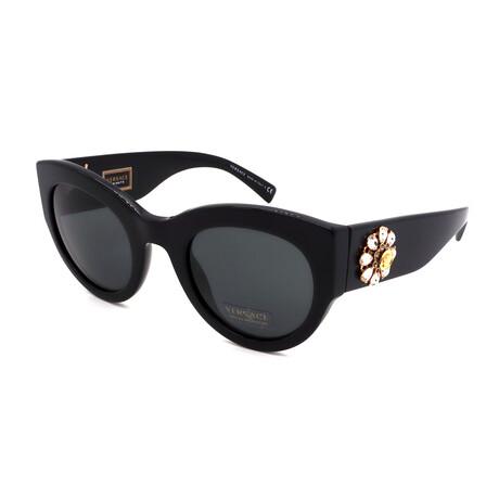 Versace // Women's VE4353BM-531487 Cat Eye Sunglasses // Black