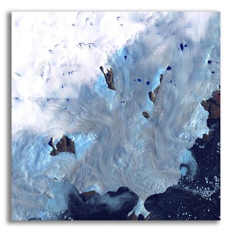 """Greenland Coast (12""""H x 12""""W x 0.13""""D)"""