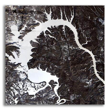 """Dragon Lake (12""""H x 12""""W x 0.13""""D)"""