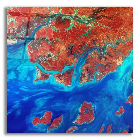 """Guinea-Bissau (12""""H x 12""""W x 0.13""""D)"""