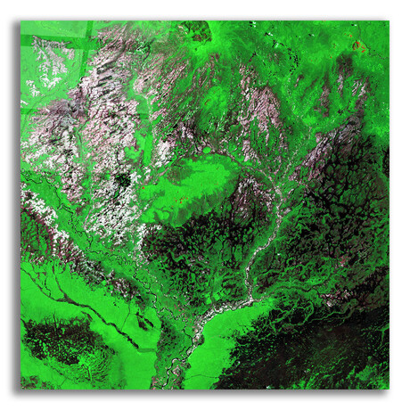 """Araca River (12""""H x 12""""W x 0.13""""D)"""