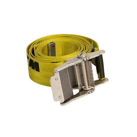 Yellow Industrial Logo Belt