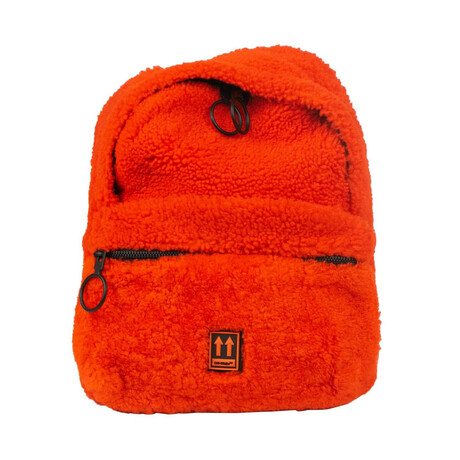 Orange Mini Industrial Backpack