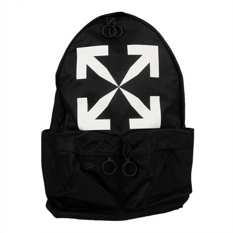 Black 'Arrow' Backpack