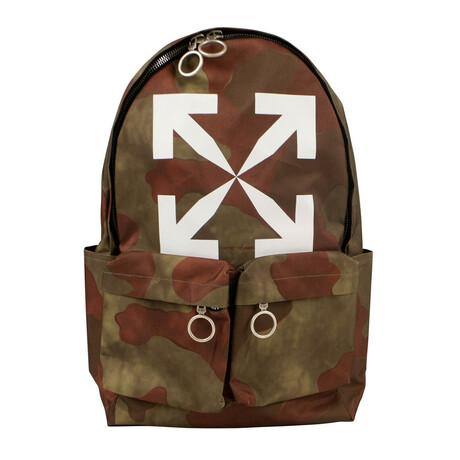 Camo 'Arrow' Backpack