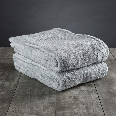 Organic Cotton Bath Sheet // Mineral Green