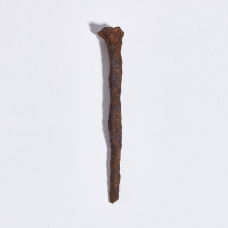 """Large Roman """"Crucifixion Spike"""" // Early 1st century AD"""