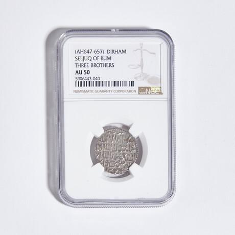Ancient Islamic, Seljuqs of Rum // Excellent Silver Dirham