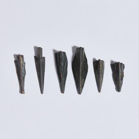 Group of 6 Greek & Scythian Arrowheads // 8th-1st Cent. BC // Random