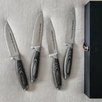 Bonded Ash Jumbo Steak Knives // Set of 4