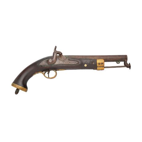 English Percussion Pistol // Circa 1825-1845