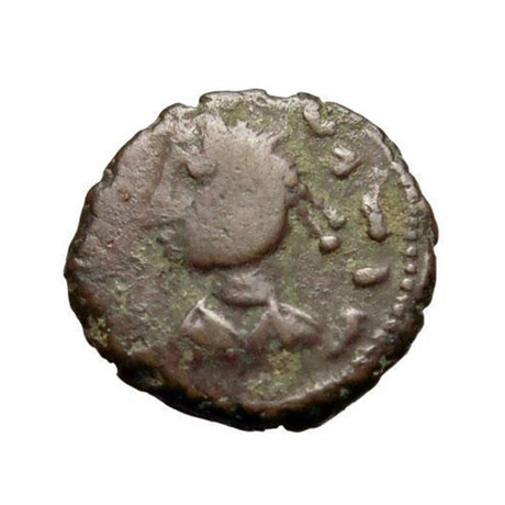 Bronze Coin, Germanic Tribe // c. 440-490 AD