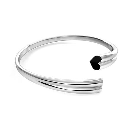 Love Bangle // Sterling Silver