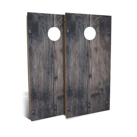 Country Living Black Nail + Wood // Cornhole Board Set