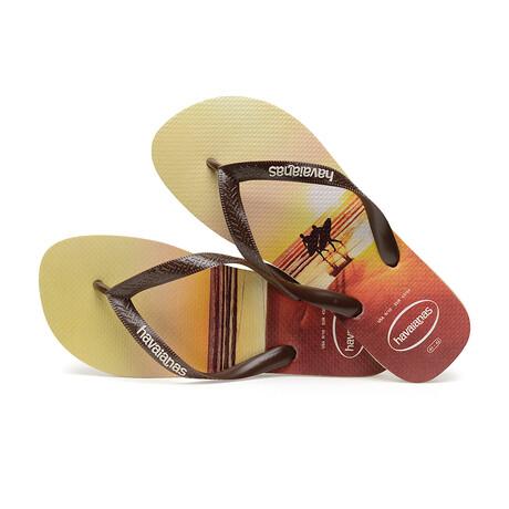 Hype Sandal // Sand Gray + Dark Brown (US: 8)
