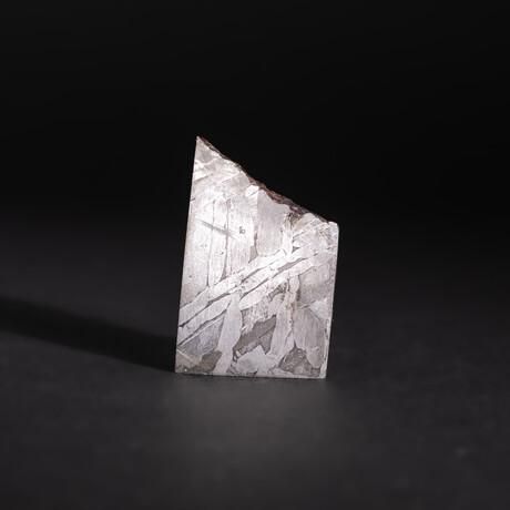 Genuine Natural Seymchan Meteorite Square Slice // V3