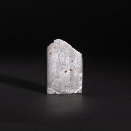 Genuine Natural Seymchan Meteorite Square Slice // V12