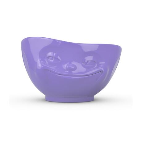 Bowl // Grinning // 16.9 Fl. Oz // Purple