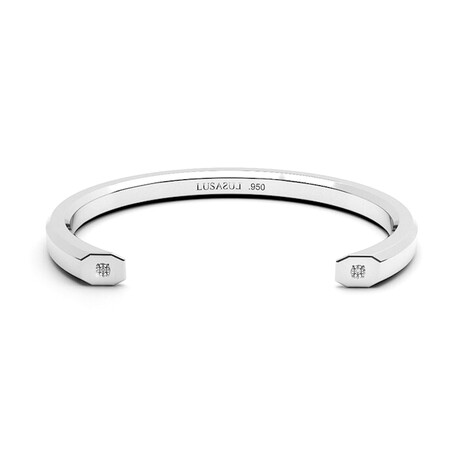 Classic Bold Bangle // 5mm // Sterling Silver (Small)