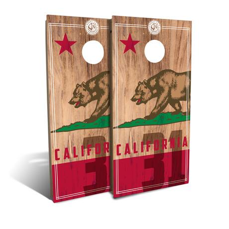 California State Flag // Cornhole Board Set (Classic)