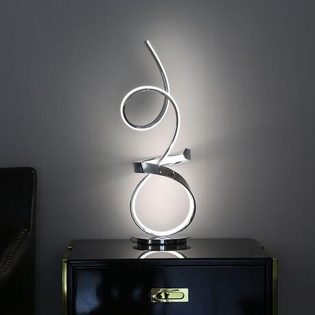 Amsterdam // Table Lamp // Chrome (Single Lamp)