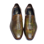 Venetian Loafer // Green (US: 12)