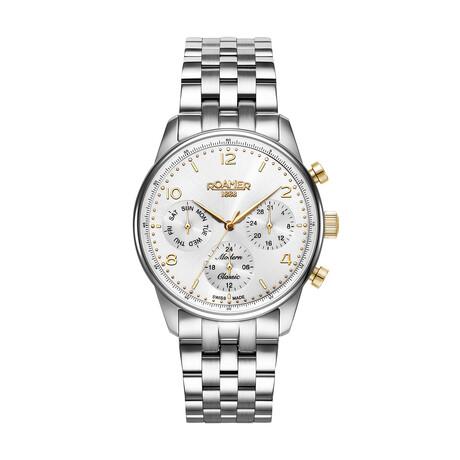 Roamer Modern Classic Chronograph Quartz // 509902-47-24-20