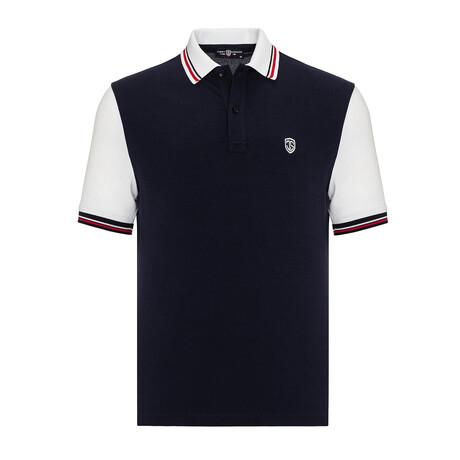 Vlado Short Sleeve Polo // Navy (S)