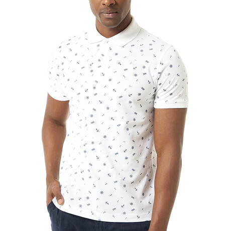 Mojca Short Sleeve Polo // White (S)