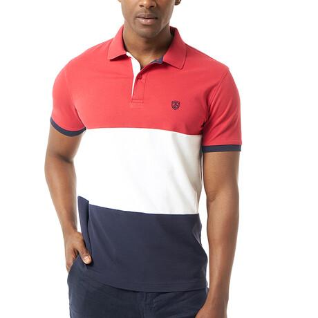 Christakis Short Sleeve Polo // Red (S)