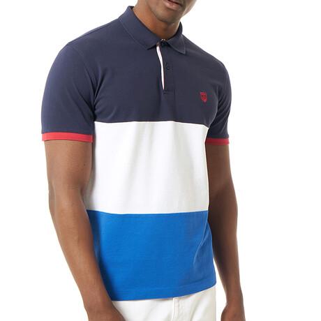 Christakis Short Sleeve Polo // Navy (S)