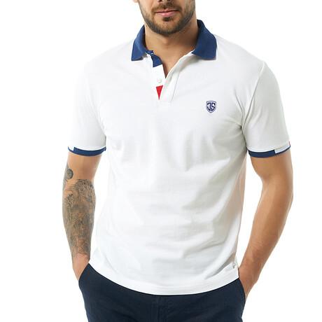 Rene Short Sleeve Polo // White (S)