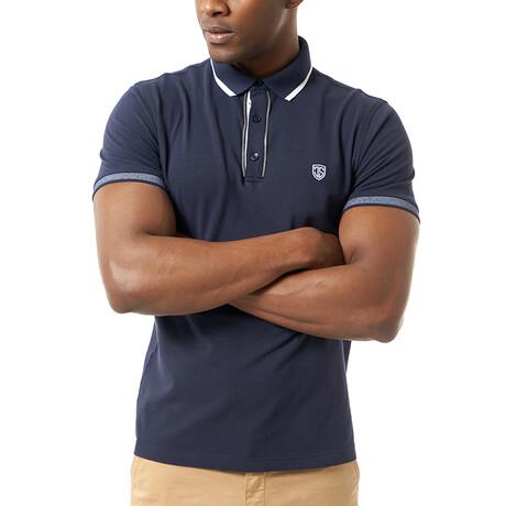 Petra Short Sleeve Polo // Navy (S)