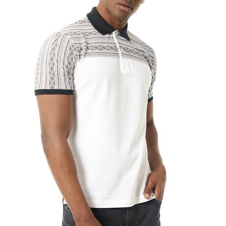 Luka Short Sleeve Polo // White (S)