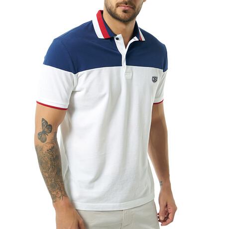 Bogdan Short Sleeve Polo // White (S)
