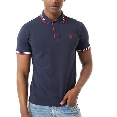 Tit Short Sleeve Polo // Navy (S)