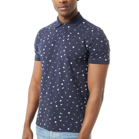 Mojca Short Sleeve Polo // Navy (S)