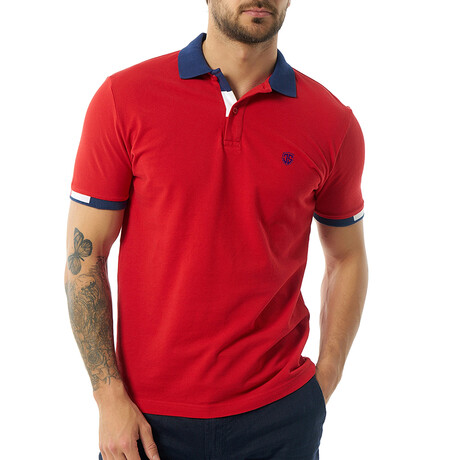 Rene Short Sleeve Polo // Red (S)