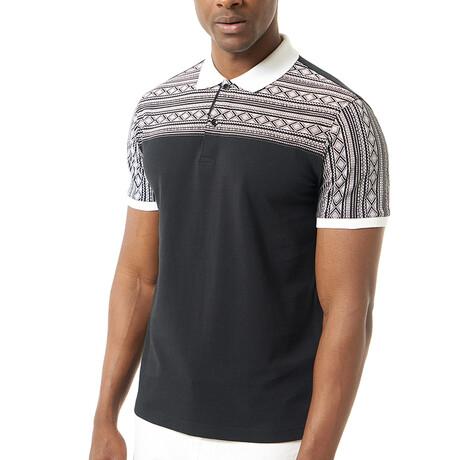 Luka Short Sleeve Polo // Black (S)
