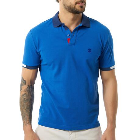 Rene Short Sleeve Polo // Sax (S)