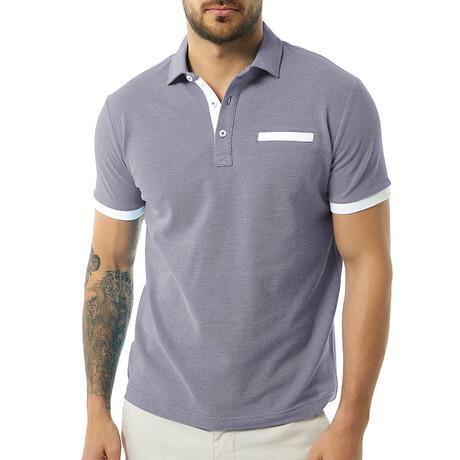 Tim Short Sleeve Polo // Navy (S)