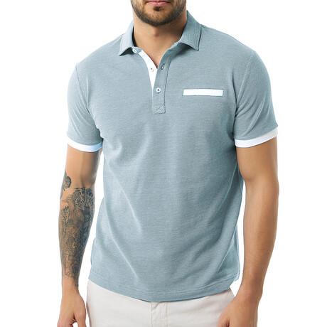 Tim Short Sleeve Polo // Indigo (S)