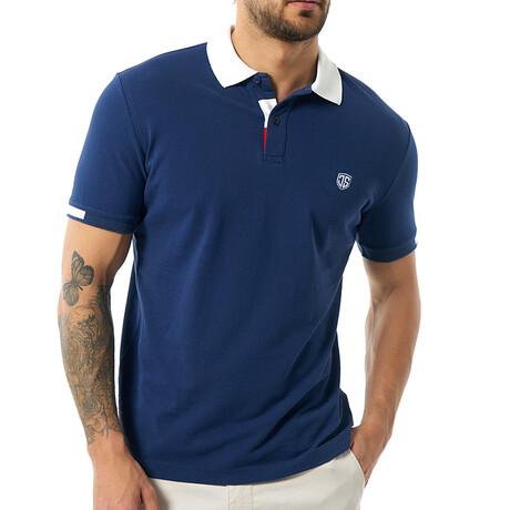 Rene Short Sleeve Polo // Navy (S)