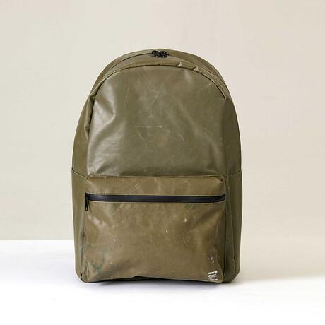 Concrete Backpack // Olive