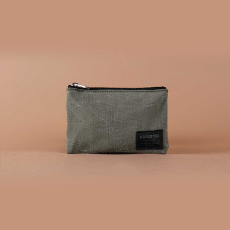 Haiku Pouch // Vintage Khaki (Small)