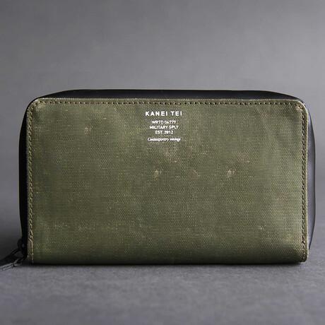 Berlin Wallet // Vintage Khaki // Large