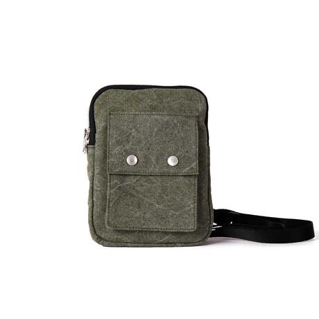 Temple Travel Bag // Vintage Khaki
