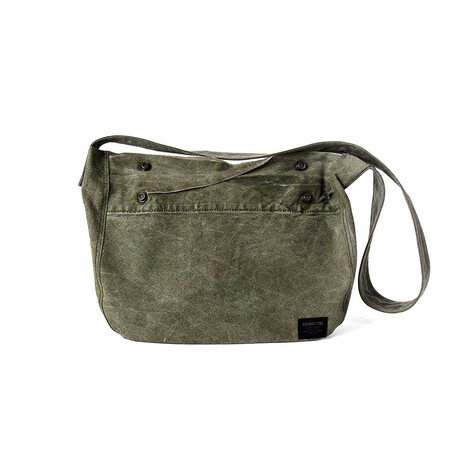 Times Travel Bag // Vintage Khaki