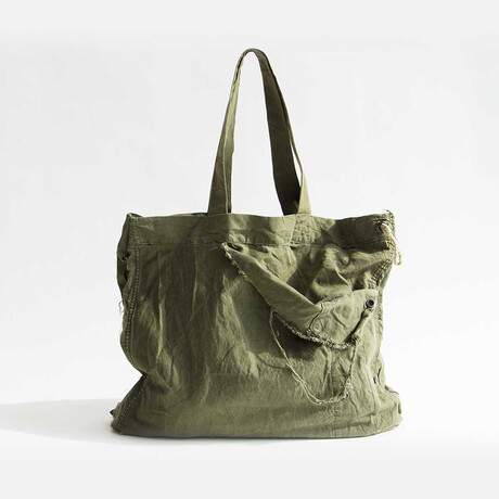 Amsterdam Tote Bag // Vintage Khaki