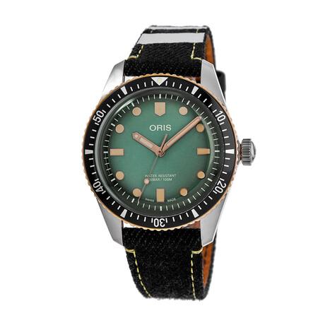 Oris Divers Automatic // 01 733 7707 4337-Set
